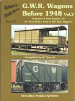 G.W.R. Wagons Before 1948 Vol. 2
